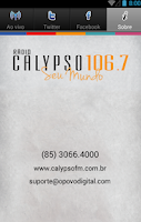Screenshot of Calypso FM 106,7