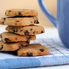 Chocolate Chip Shortbread Cookies II