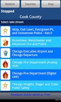 Screenshot of Free - Police Scanner Radio