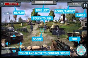 Screenshot of Sniper Speeding