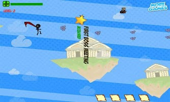 Screenshot of Stickman Super Hero