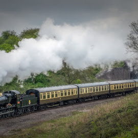 Dinmore Manor by Steve Dormer - Transportation Trains