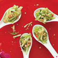 Sweet Cucumber Salad with Chiles and Peanuts
