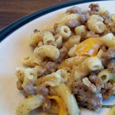 Philly Cheesesteak Skillet Meal