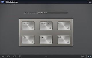 Screenshot of Samsung SmartView 1.0