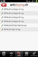 Screenshot of Antidoping Switzerland