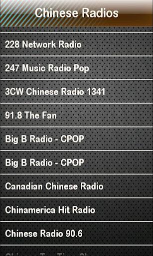 Chinese Radio Chinese Radios
