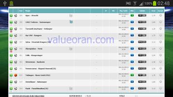 Screenshot of Valu Tahmin İddaa Kuponları