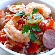 Ragin' Cajun Jambalaya (Crock Pot)