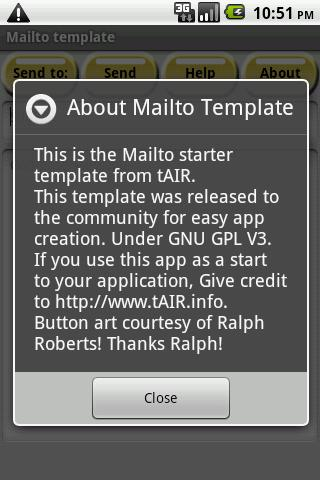 【免費工具App】Mailto Starter Template-APP點子