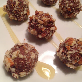 Almond Chocolate Truffles