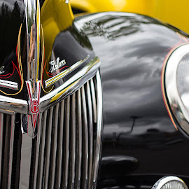 Curves by Cliff Johnson - Transportation Automobiles ( washington, grill, v8, headlight, ford, black, ford deluxe )