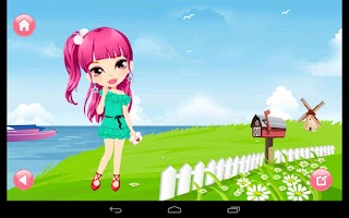 Screenshot of Dress Up! Cute Girl Fashion