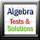 Algebra Tests & Solutions icon