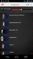 Screenshot of WRadio México para Android