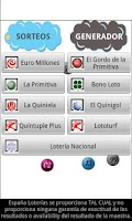 Screenshot of España Loterías
