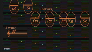 Screenshot of OTOONE (synthesizer)