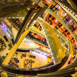 DON'T LEAN ON GLASS by Michael Rey - Buildings & Architecture Other Interior ( interior design, shopping mall, retail shops, malaysia, architecture, kuala lumpur )
