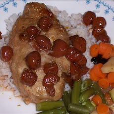 Cherry-Glazed Chicken