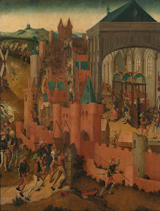 RIJKS: Meester van Rhenen: The Siege of Rhenen 1525