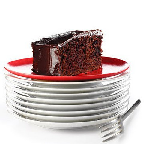 Double-Chocolate Cake