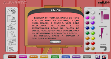 Screenshot of Pintando o 7