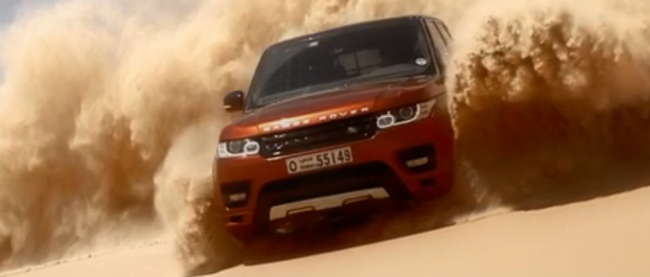 Range Rover Sport 'Bosses' The Largest Sand Desert In The World! (VIDEO)