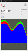 Screenshot of RGB Light Sensor beta