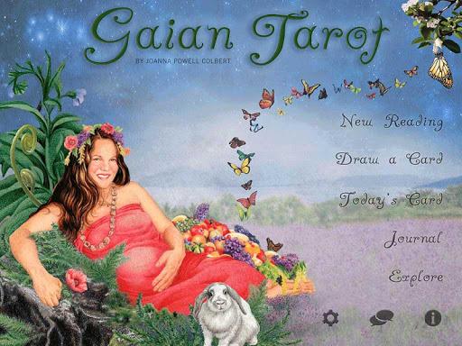 Gaian Tarot - screenshot