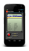 Screenshot of Morse Trainer for Ham Radio
