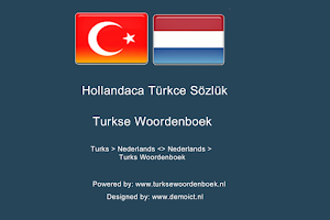 Screenshot of Dutch Turkish Dictionary