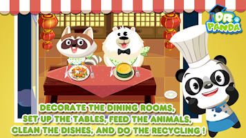 Screenshot of Dr. Panda's Restaurant