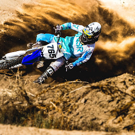 Sand Surfing by Cade VanHeel - Sports & Fitness Motorsports ( motocross, dirtbike, colorado, mx, winter sports )
