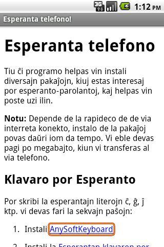 Donaco de 2 EUR por Esperanto