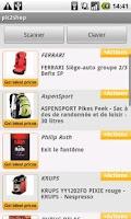 Screenshot of pic2shop Barcode & QR Scanner
