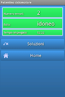 Screenshot of Patentino ciclomotore 2015