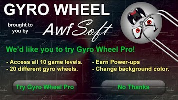 Screenshot of Gyro Wheel