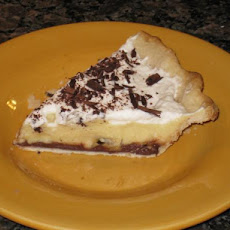 Black Bottom Banana Cream Pie...light Version