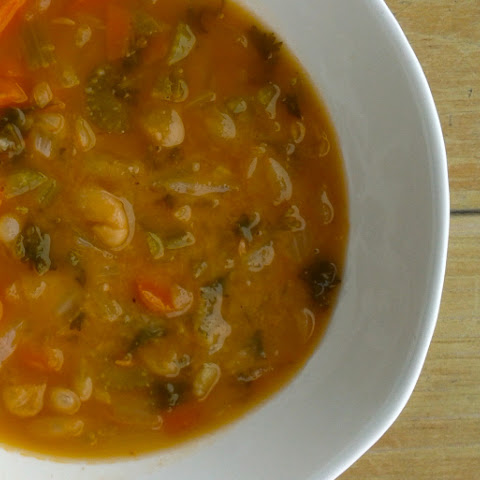 Fasoulada (Greek Bean Soup)