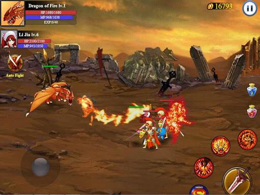 Heroes Of War:Sword Legend - screenshot