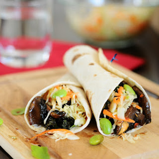 Asian Fusion Veggie Tacos