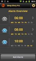 Screenshot of Sleep Diary Pro