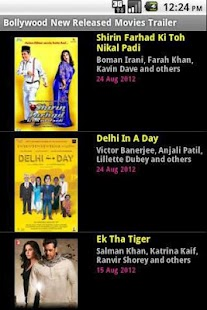 Bollywood new released movies - screenshot