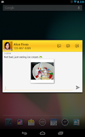 Screenshot of Tablet Talk: SMS & Texting App