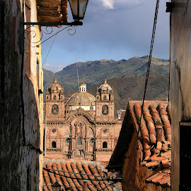 Rooftop by Guy Gillade - Buildings & Architecture Public & Historical ( cusco )