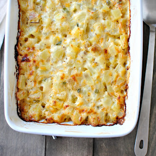 Homemade Cheesy Potatoes
