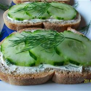 Low Calorie Cucumber Sandwiches Recipes