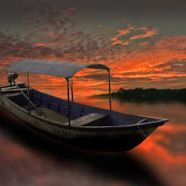 * Abang langit * by Ari Sarasto - Transportation Boats
