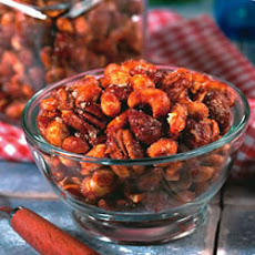Candied Spiced Mixed Nuts