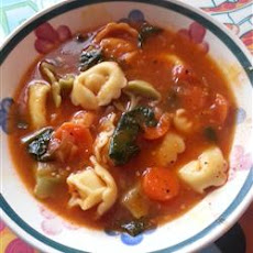Italian Sausage Soup with Tortellini